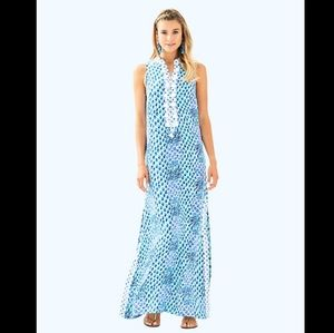 Lilly Pulitzer Mini Jane Sleeveless Maxi Dress Sz8